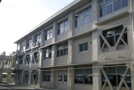 小野田工業高校耐震改修